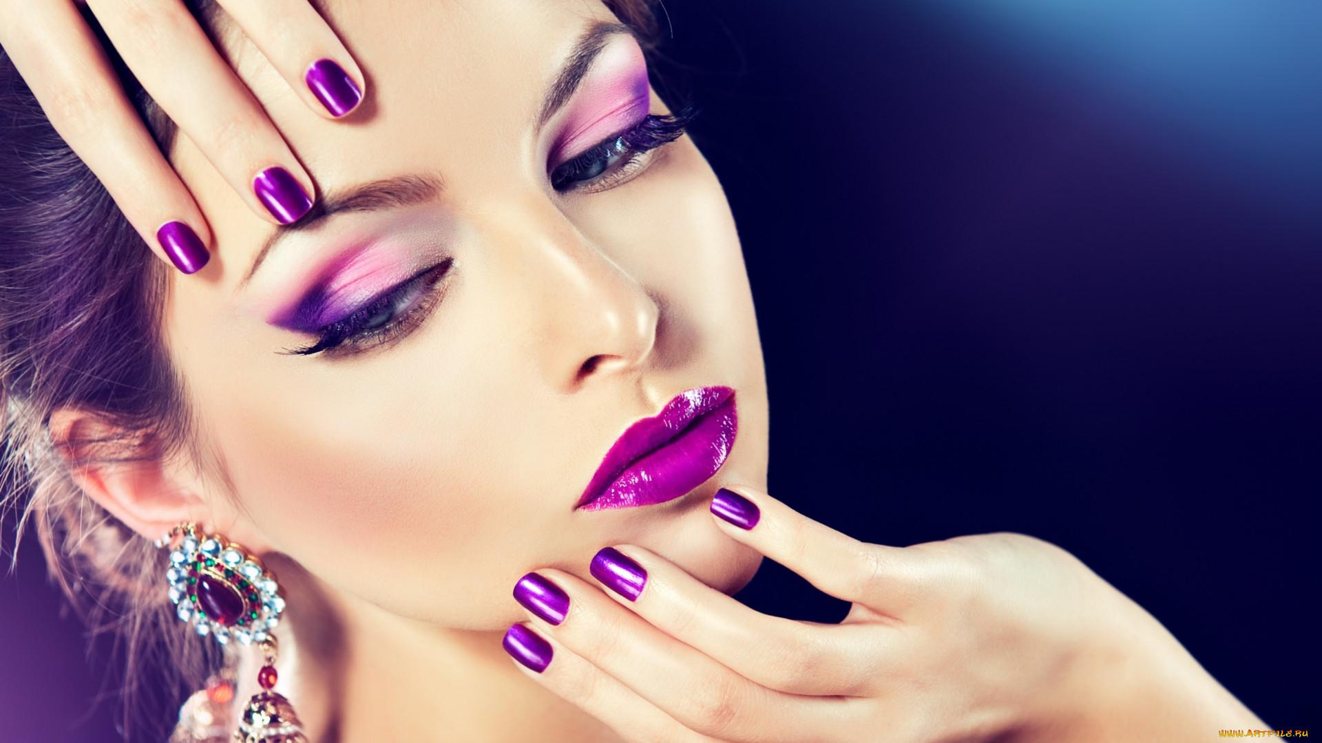 Как самой сделать проф макияж